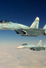 Российские истребители перехватили самолёт ВВС США над Черным морем