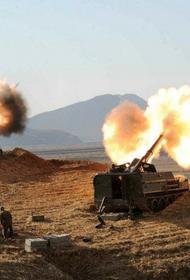 Турецкая артиллерия обстреляла мирных жителей в Сирии