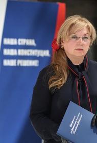 Памфилова заявила, что процедура проведения голосования себя полностью оправдала