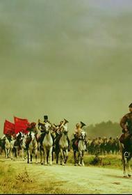 В 1920 году Тухачевский отдал приказ Западному фронту: «На наших штыках мы принесём трудящемуся человечеству счастье и мир»