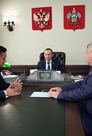 Спикер ЗСК провел рабочую встречу с министром ТЭК и ЖКХ Кубани
