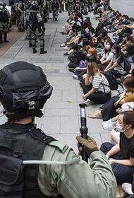 На территории Гонконга создается специальная силовая структура