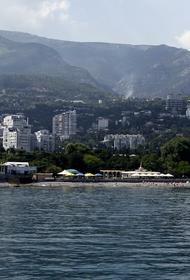 В Крым пришла аномальная жара