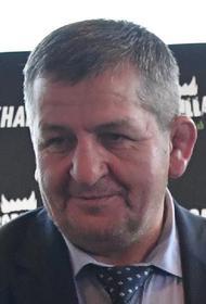 Видео с похорон Абдулманапа Нурмагомедова, на которых  присутствовал Рамзан Кадыров