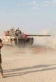 Турецкие войска обстреляли позиции сирийской правительственной армии