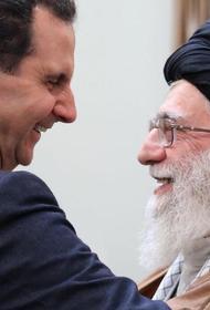 Иран намерен хотя бы частично покрыть свои расходы на содержание семейства Асада