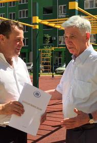 Застройщика поблагодарили за ввод в эксплуатацию долгостроя в Краснодаре