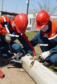 Зима близко: энергетики отремонтировали 90% сетей в Тихорецком районе