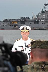 ВМС США вступили в словесную перестрелку с китайскими СМИ