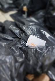Коронавирусный морг в Томске. Что в мешках – трупы умерших от вируса людей или фейк?