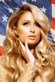 Пэрис Хилтон начала предвыборную кампанию: блондинка намерена стать президентом США