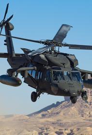 Литва купит для своих войск у США вертолеты UH-60M Black Hawk