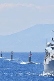 Турецкий флот проводит военные учения у берегов Ливии