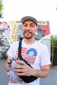 В Челябинске завершили работу над граффити в честь трудовой доблести
