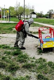Тотальная дезинфекция: более 4 тысяч объектов в Приморье прошли санобработку