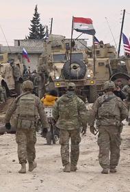 Сирийские военные не пропустили колонну бронетехники США через свой блокпост
