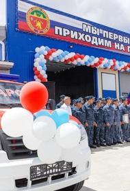 Новую пожарную часть торжественно открыли в поселке под Анапой
