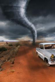 По западной части США пронёсся мощный торнадо