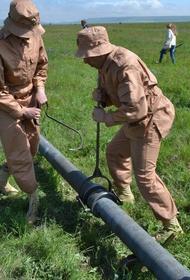 По просьбе Симферополя Минобороны РФ свяжет трубопроводом Тайганское и Симферопольское водохранилища