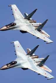 Минобороны опубликовало видео перехвата российскими истребителями самолета ВВС США