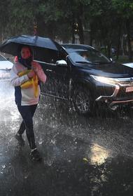 Во вторник в Москве может выпасть половина месячной нормы осадков, ожидаются подтопления