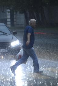 Синоптики предупредили об угрозе подтоплений на улицах Москвы во вторник