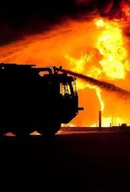 В Вологодской области после удара молнии полностью сгорела школа