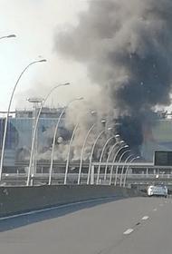 Автобус загорелся в парижском аэропорту Орли
