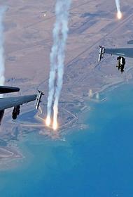 Американские и турецкие самолеты атаковали иранских и российских военных в Сирии