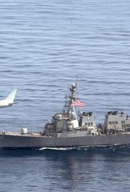 Американский эсминец с «Томагавками» на борту идёт в Чёрное море