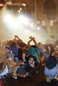 В Израиле на акциях протеста пришлось применять водометы и задействовать конные отряды