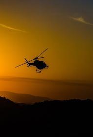 Вертолет потерпел крушение в Карибском море, погибли двое военных