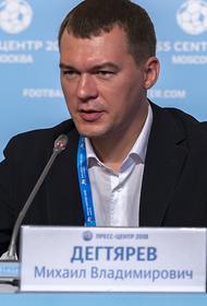 Дегтярев ответил на вопрос об участии в выборах в Хабаровском крае