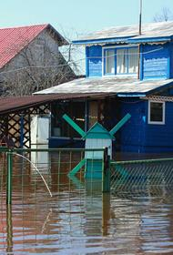 Паводок разрушил четыре моста и три жилых дома в одном из городов Свердловской области