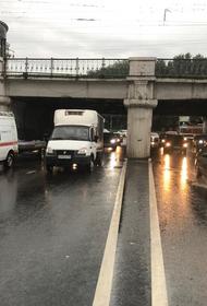 В Краснодаре после ливня восстановлено движение  транспорта