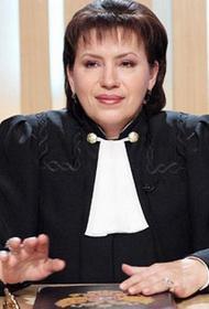 BAZA: судью из «Часа суда» Елену Дмитриеву обвиняют в вымогательстве 80 млн рублей