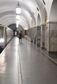 На «красной ветке» московского метро приостановили движение поездов из-за пассажира на путях