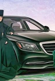 Патриарх Кирилл благословил настоятельницу Покровского монастыря игуменью Феофанию на продажу автомобиля Mercedes
