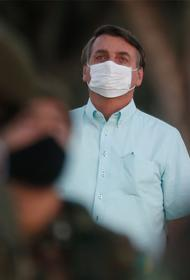 Президент Бразилии вылечился от коронавируса