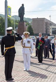 На Камчатке состоялся парад и военно-спортивный праздник по случаю Дня Военно-Морского Флота России