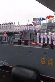 Во Владивостоке состоялся парад кораблей в честь Дня Военно-Морского Флота России