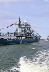День ВМФ России был отмечен в Балтийске