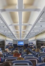 Самолет совершил вынужденную посадку в Иркутске из-за закурившего пассажира