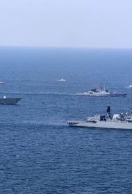 На Украине пять кораблей НАТО зашли в порт Одессы и простоят до 28 июля