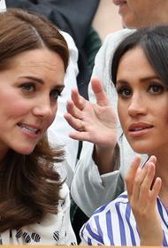 Светские хроникеры заявили, что герцогини Кейт и Меган никогда не враждовали