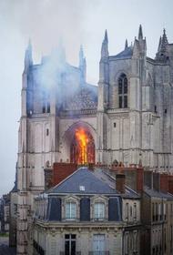 Зачем мигрант поджег во Франции Собор Петра и Павла?
