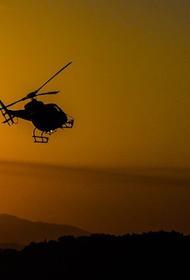 Вертолет разбился в Испании, есть погибшие