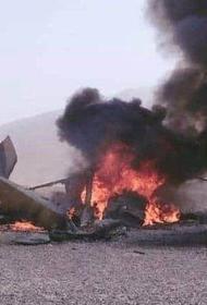 В Афганистане сбит американский военный вертолёт с морпехами на борту