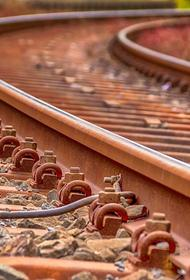 При столкновении поездов в Петербурге пострадал машинист