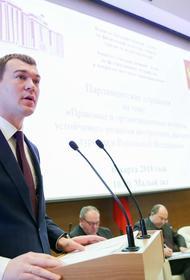 Дегтярев рассказал, как принял решение возглавить Хабаровский край
